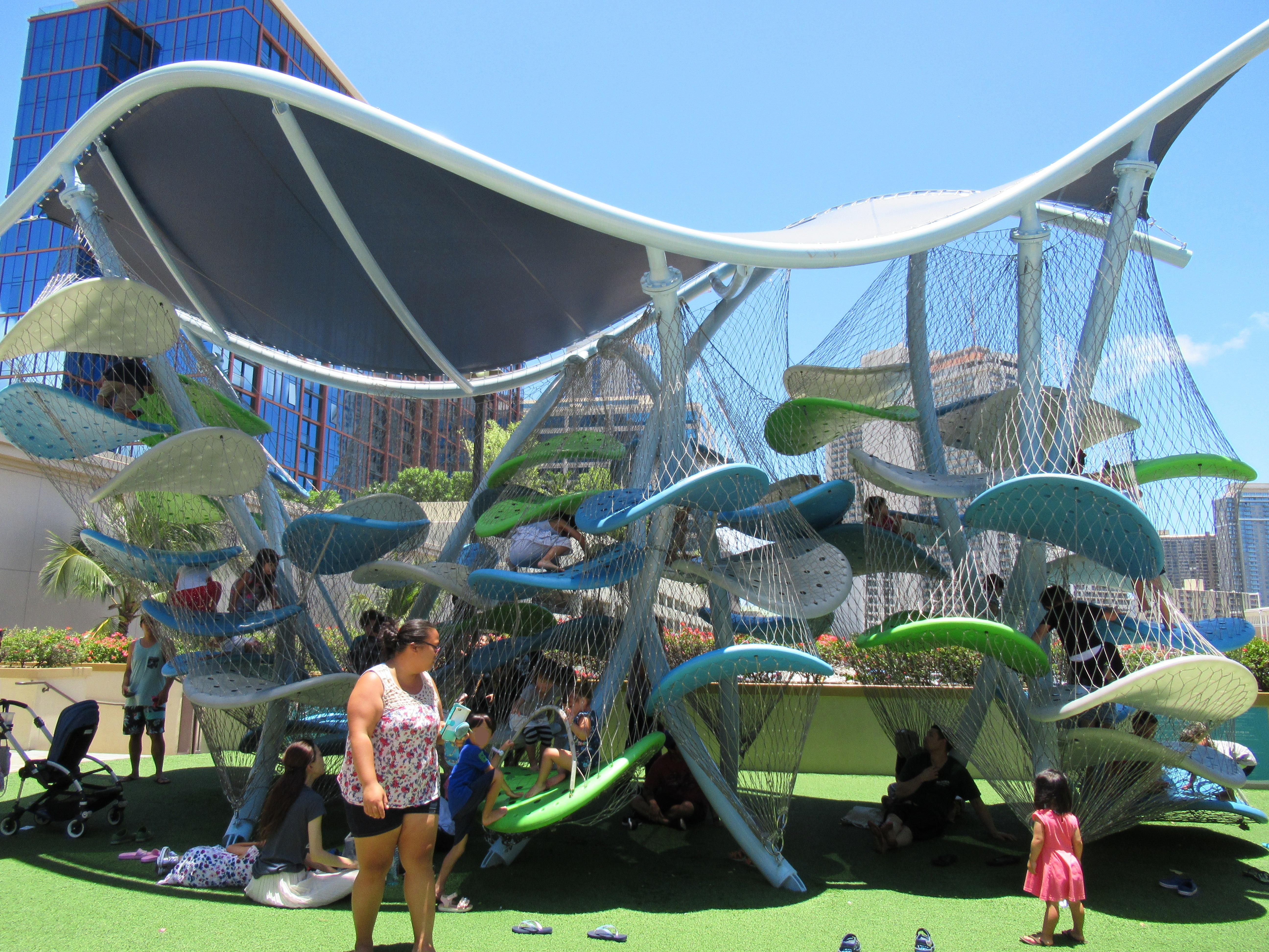 ハワイ|遊具で体を動かせる子どものオススメな遊び場☆子連れハワイブログ