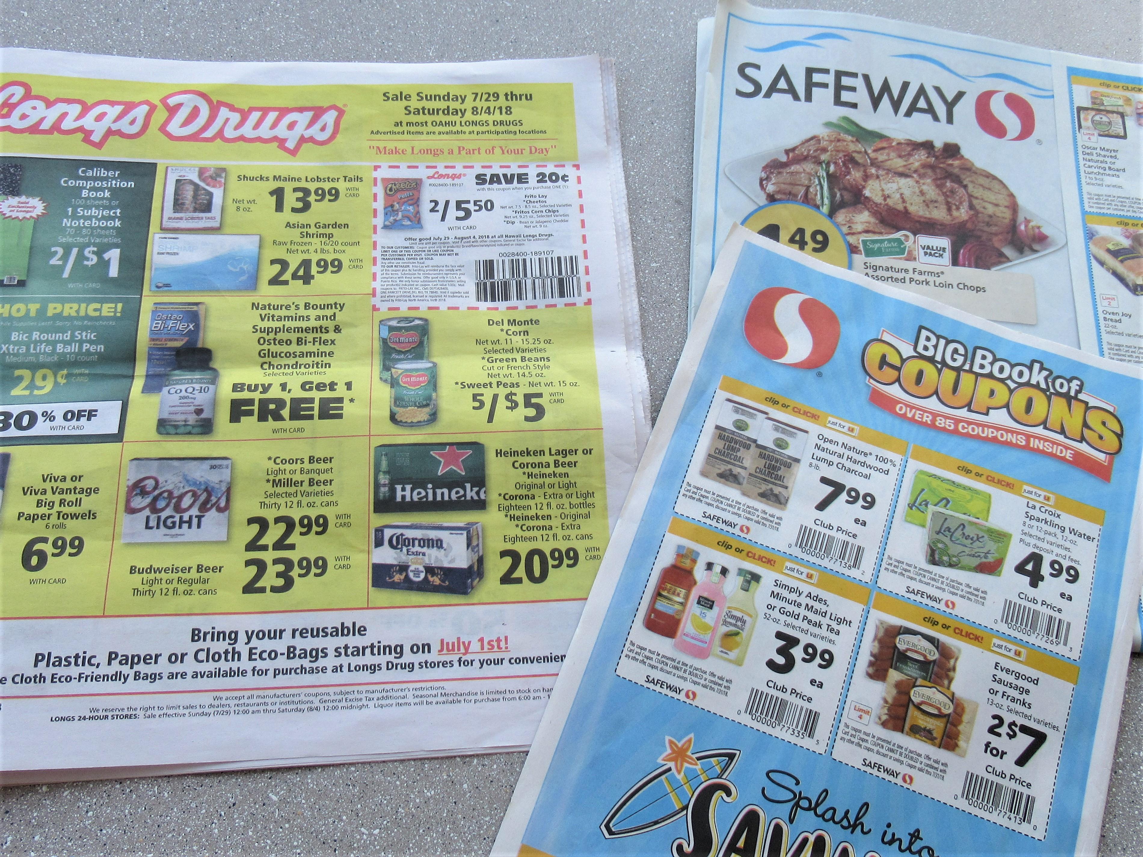 ハワイのロングドラックスとセーフウェイでお得に買い物する方法|子連れハワイブログ