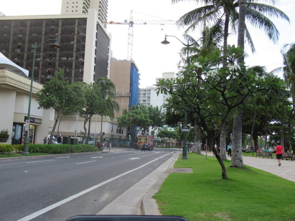 ハワイ レンタルサイクル BIKI