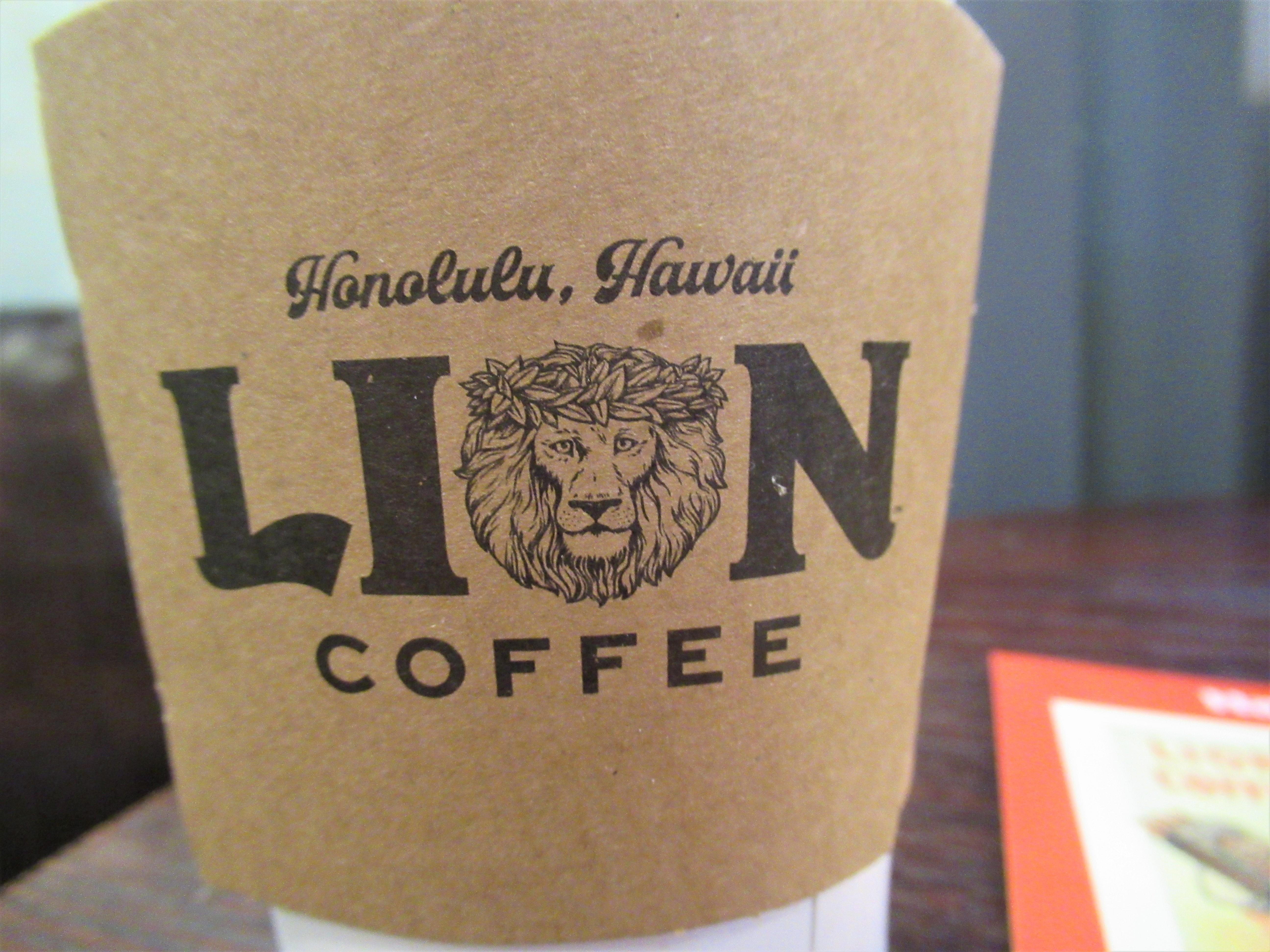 龍山駅のカフェでライオンコーヒー|韓国ブログ旅
