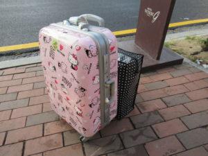 韓国旅行 スーツケース