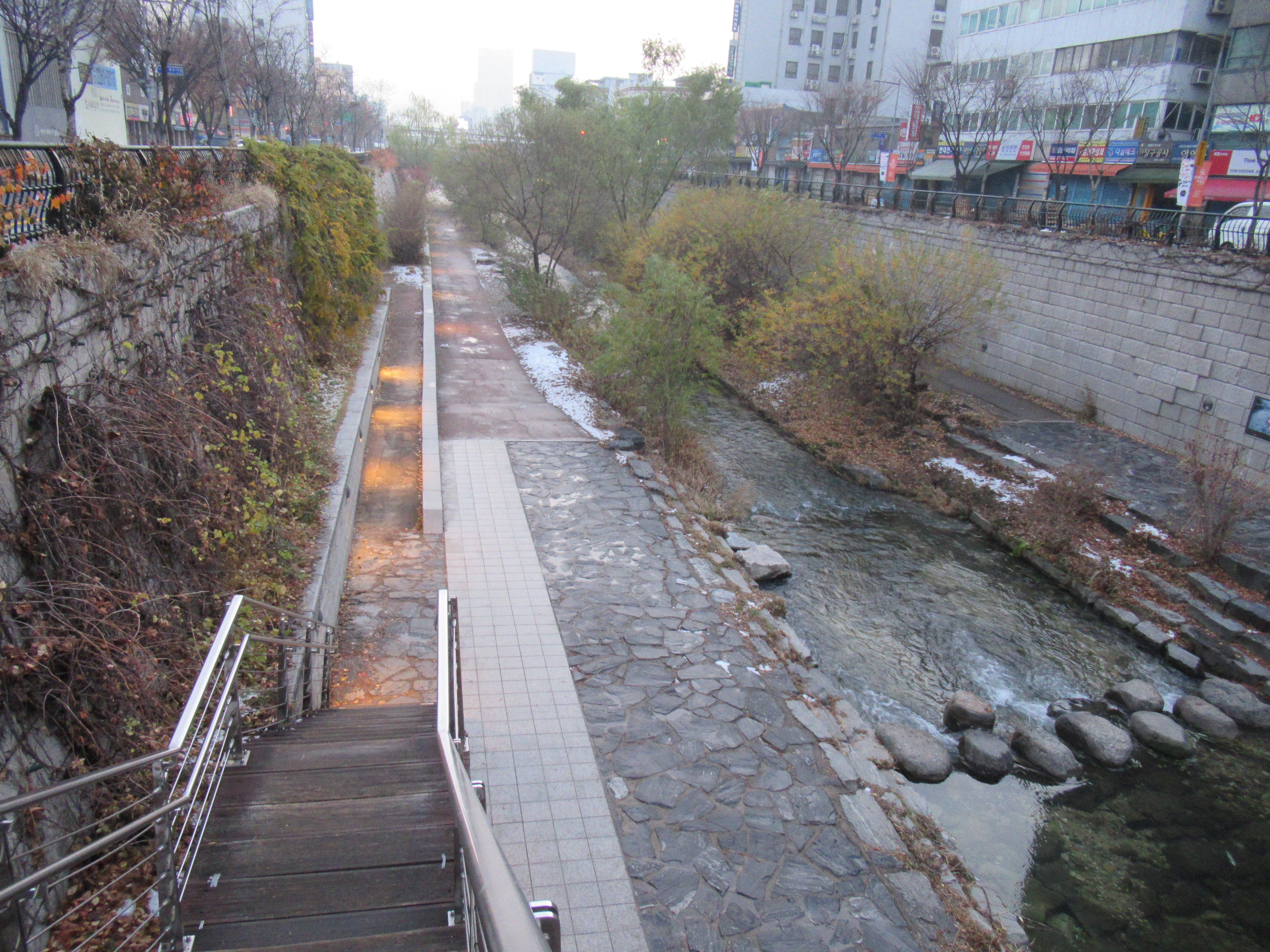 韓国|清渓川は綺麗な川~散歩しながらちょこっと観光~
