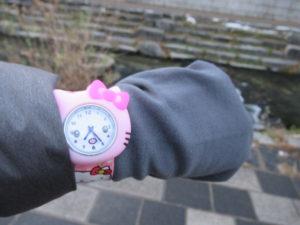 清渓川 時計