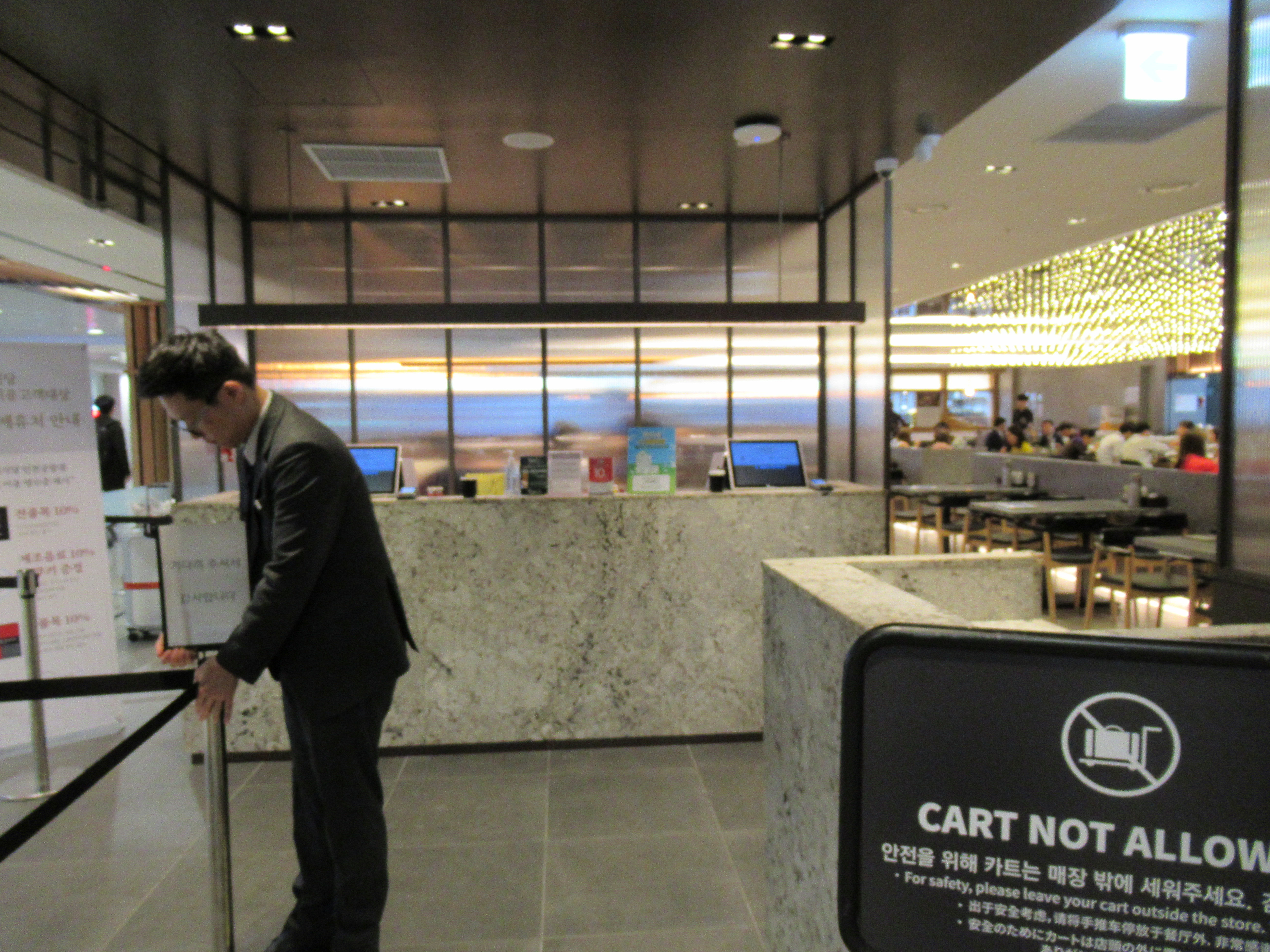 仁川空港の昼食 地下1階「カオプシクタン」注文方法とレビュー|韓国ブログ旅
