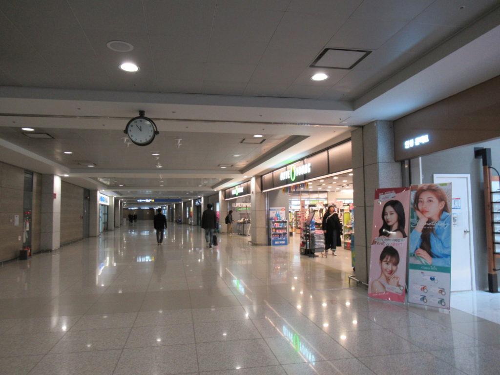 仁川空港 オリーブヤング