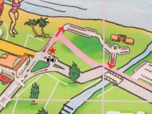 カイルアビーチ 駐車場