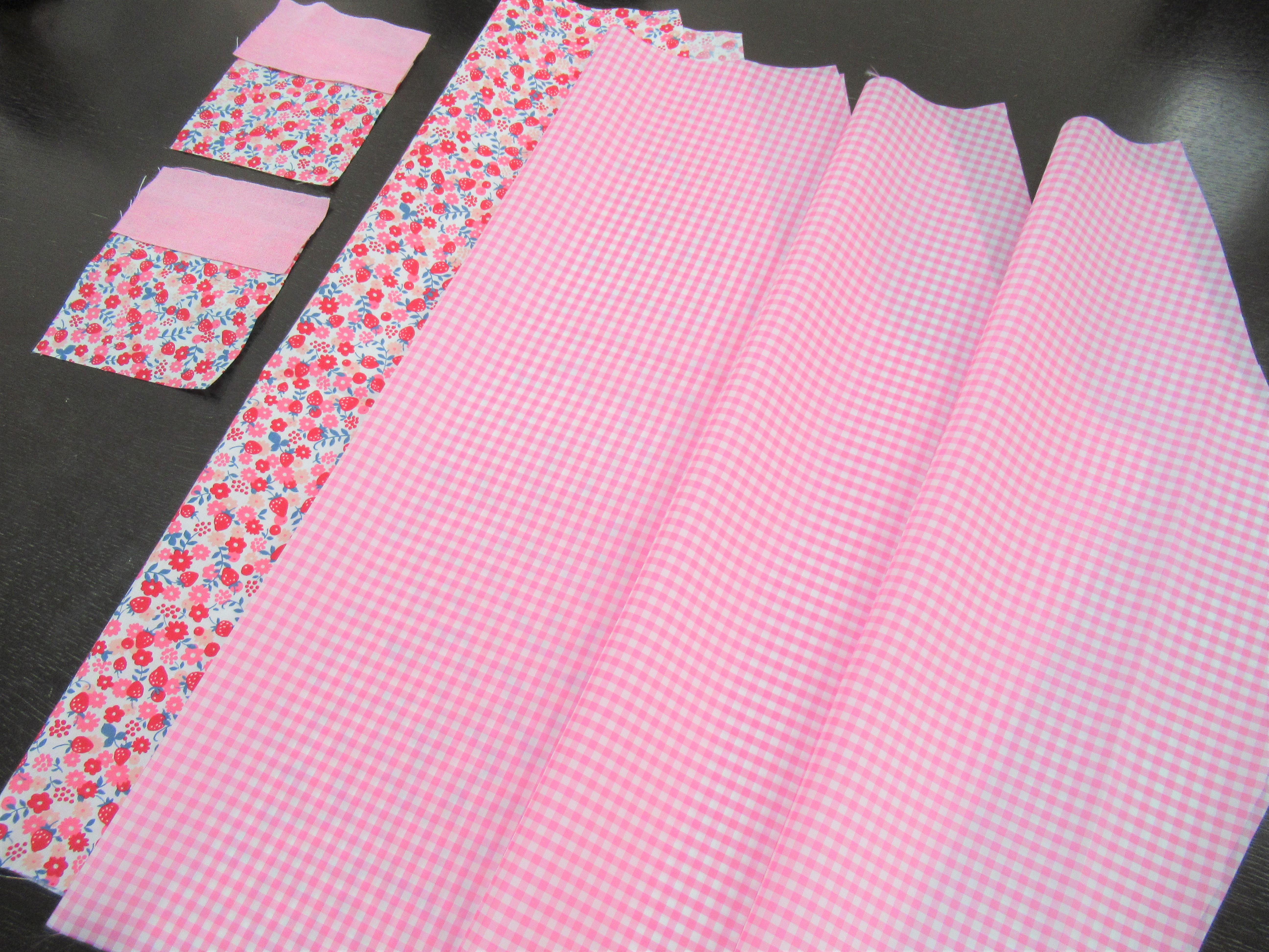 簡単手作り|幼稚園スモックの110㎝の型紙と袖・丈が50㎝指定の型紙