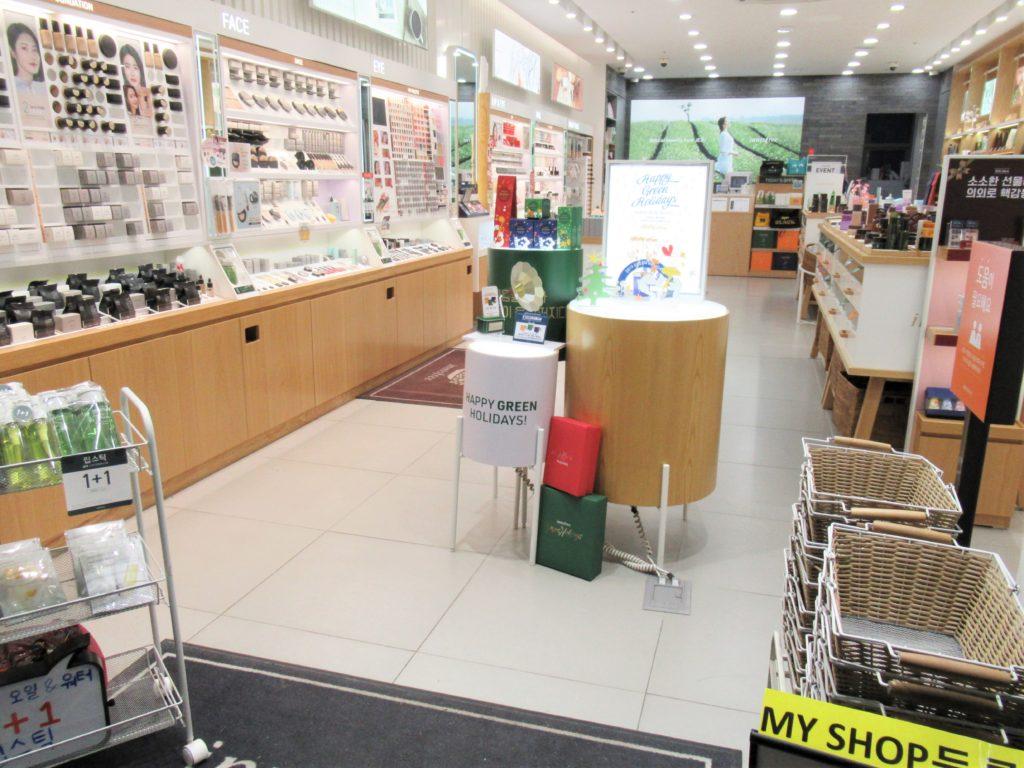 イニスフリー 韓国 店舗