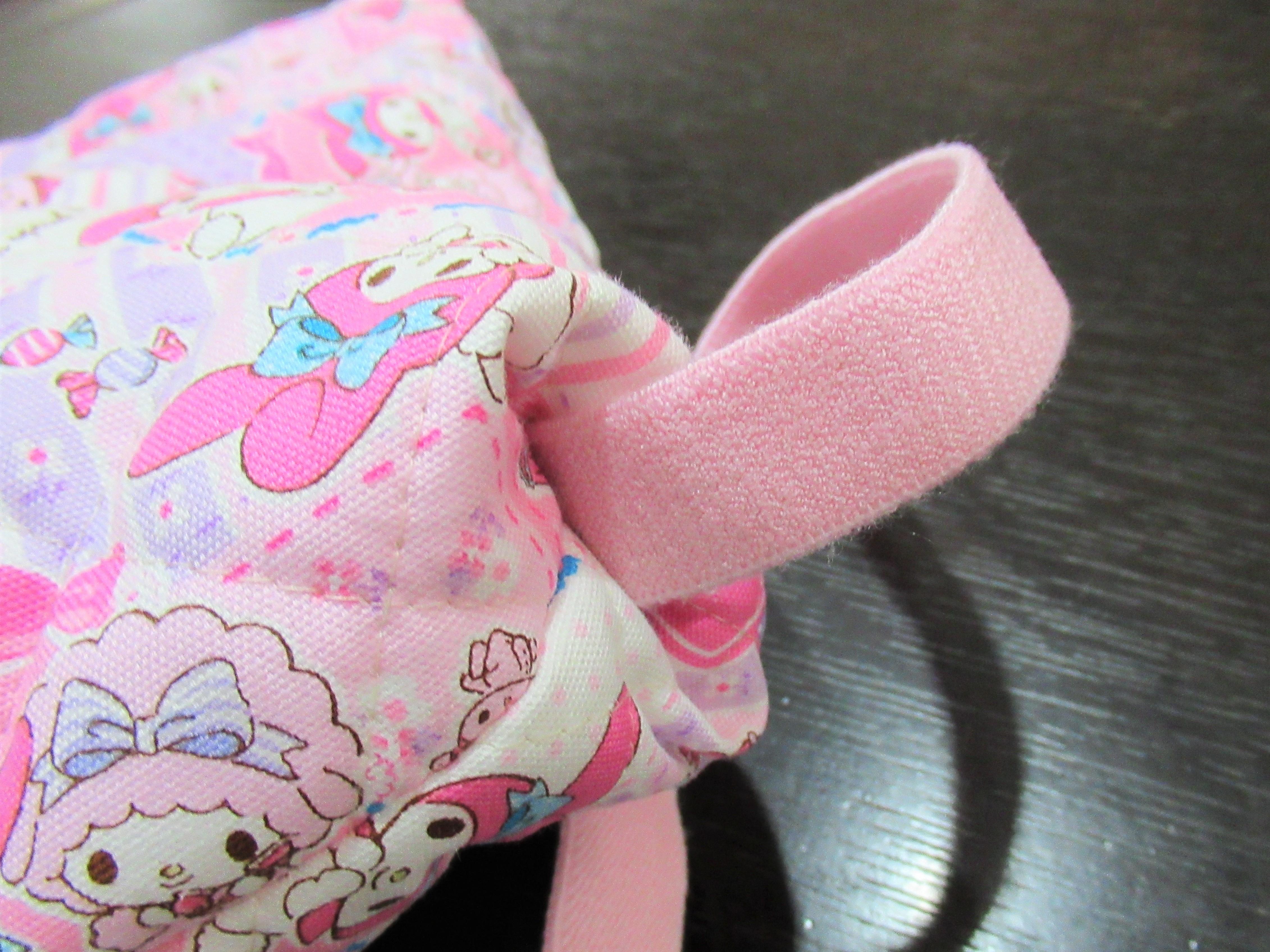 簡単手作り|子どもの座布団カバー(防災頭巾入れ)の作り方