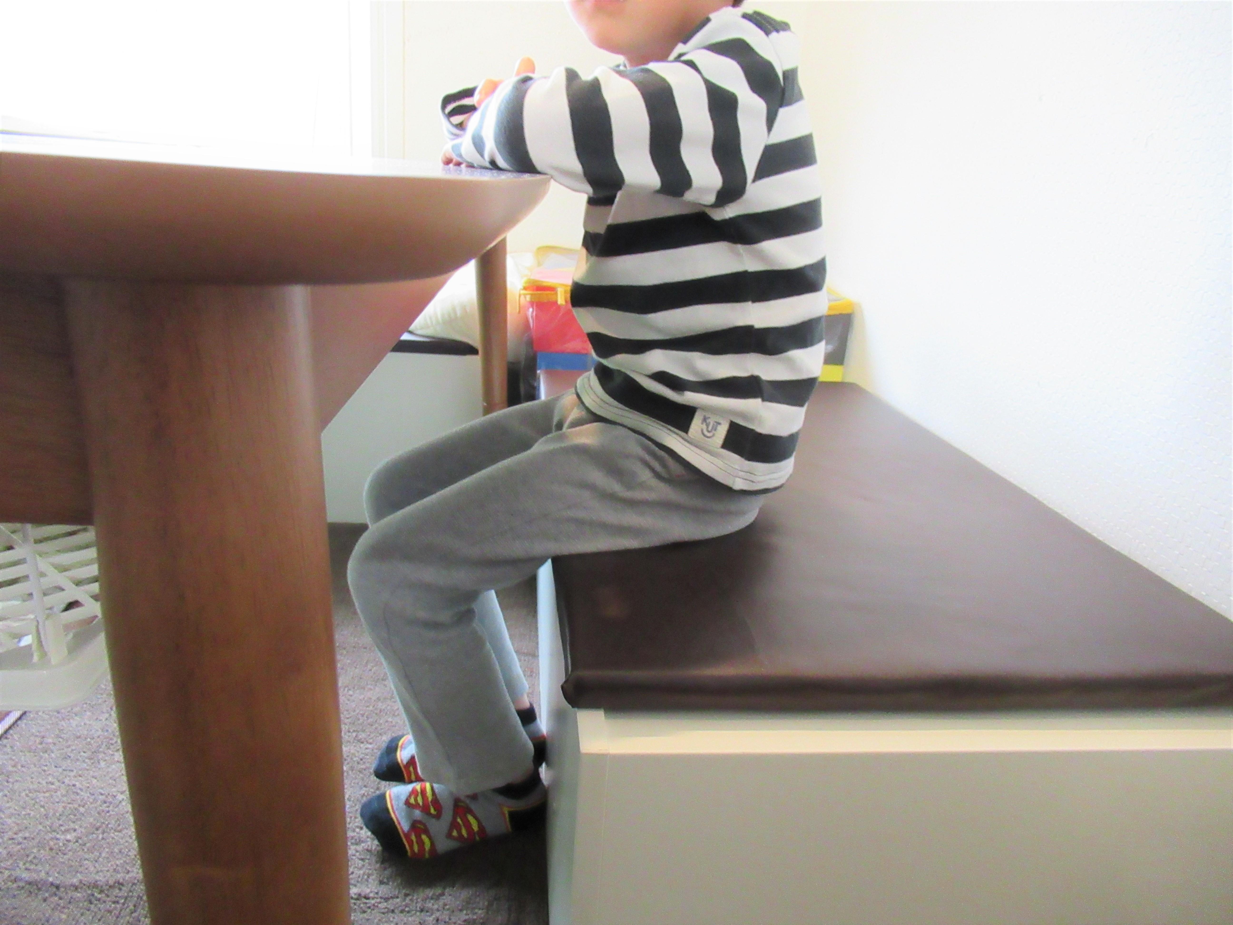 簡単DIY|IKEAのトロファスト棚をすのこでベンチ収納にする作り方