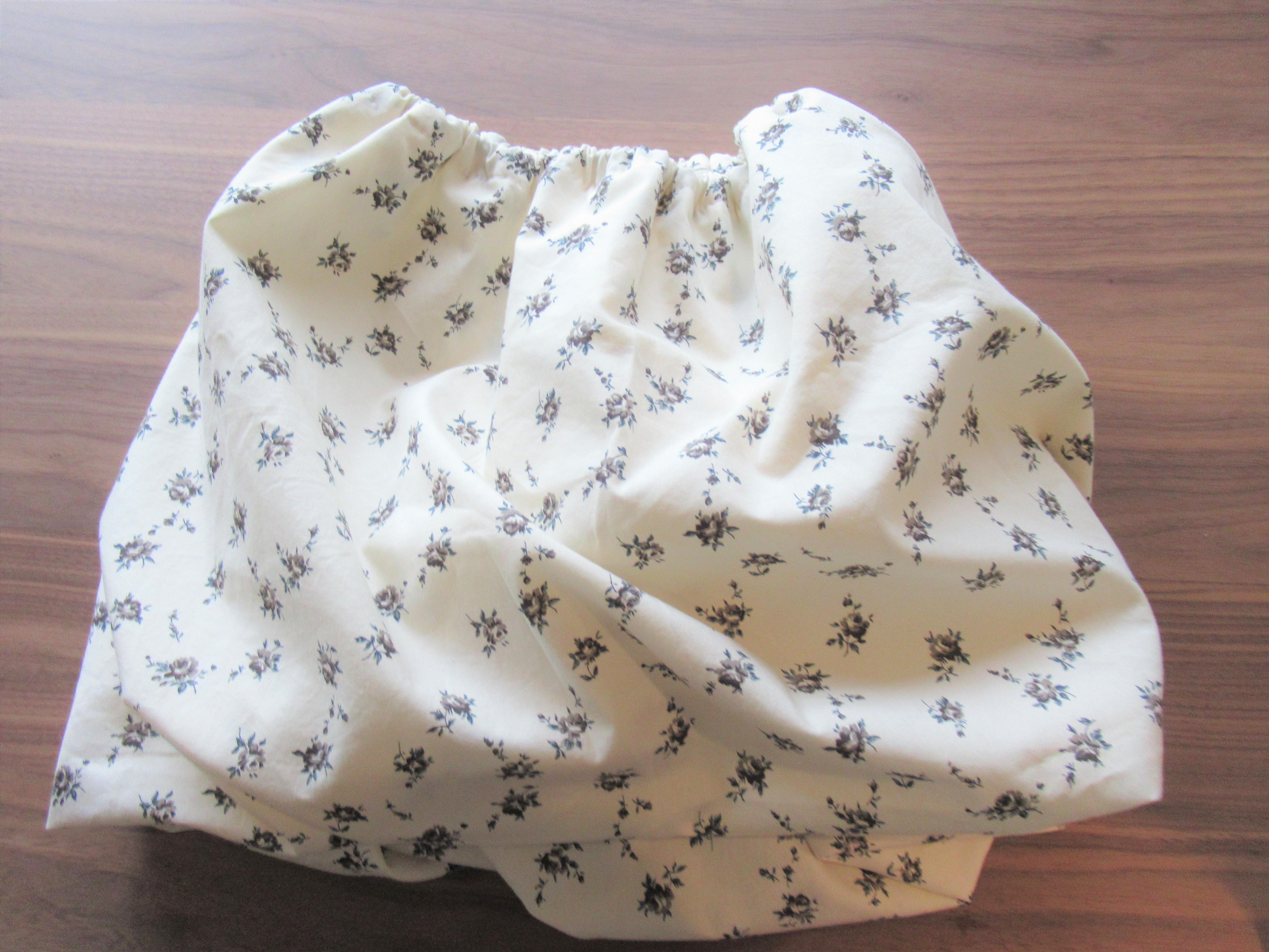 簡単手芸|ミシンの直線縫いのみで製作時間30分☆子どものバルーンスカートの作り方