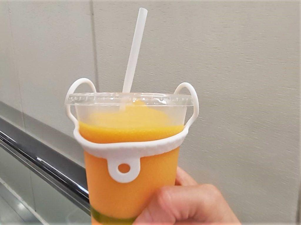 コストコ バレンシアオレンジスムージー
