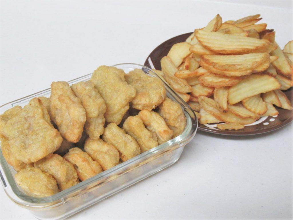 コストコ チキンナゲット&ポテト