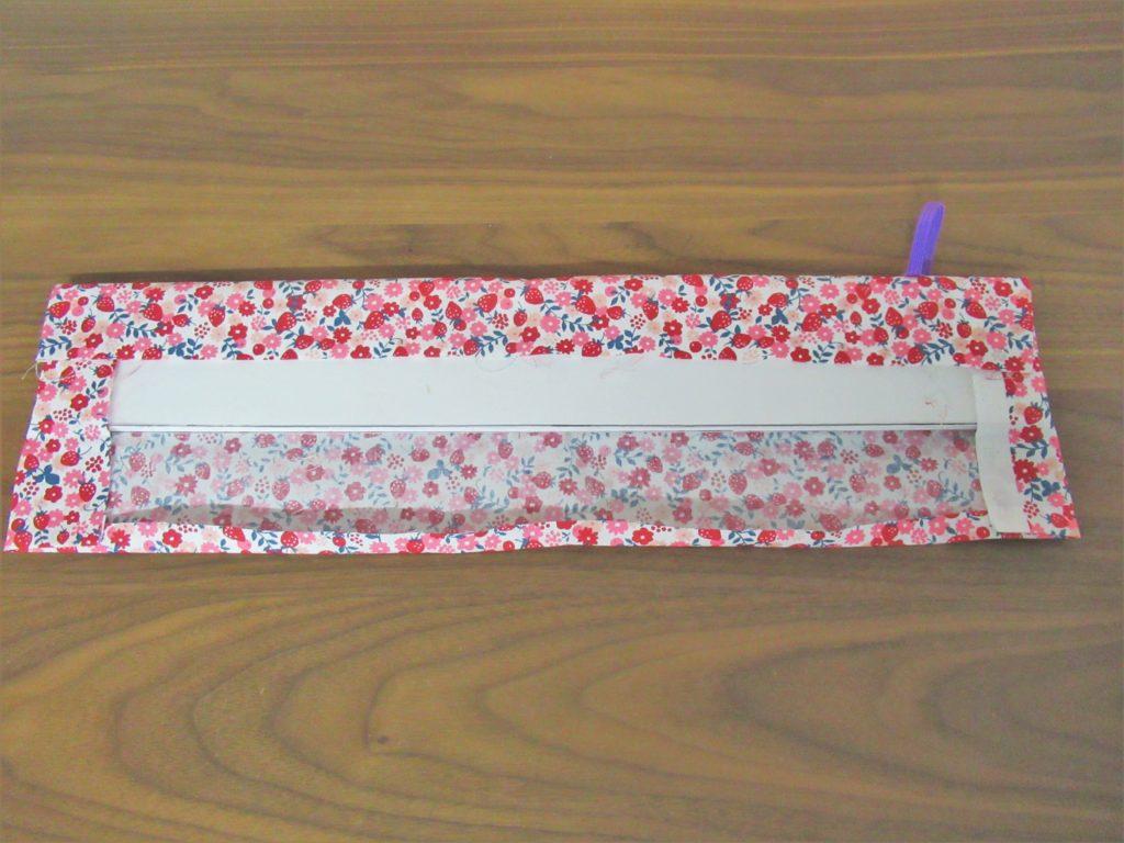 新体操 リボンケース 縫わない 簡単な作り方