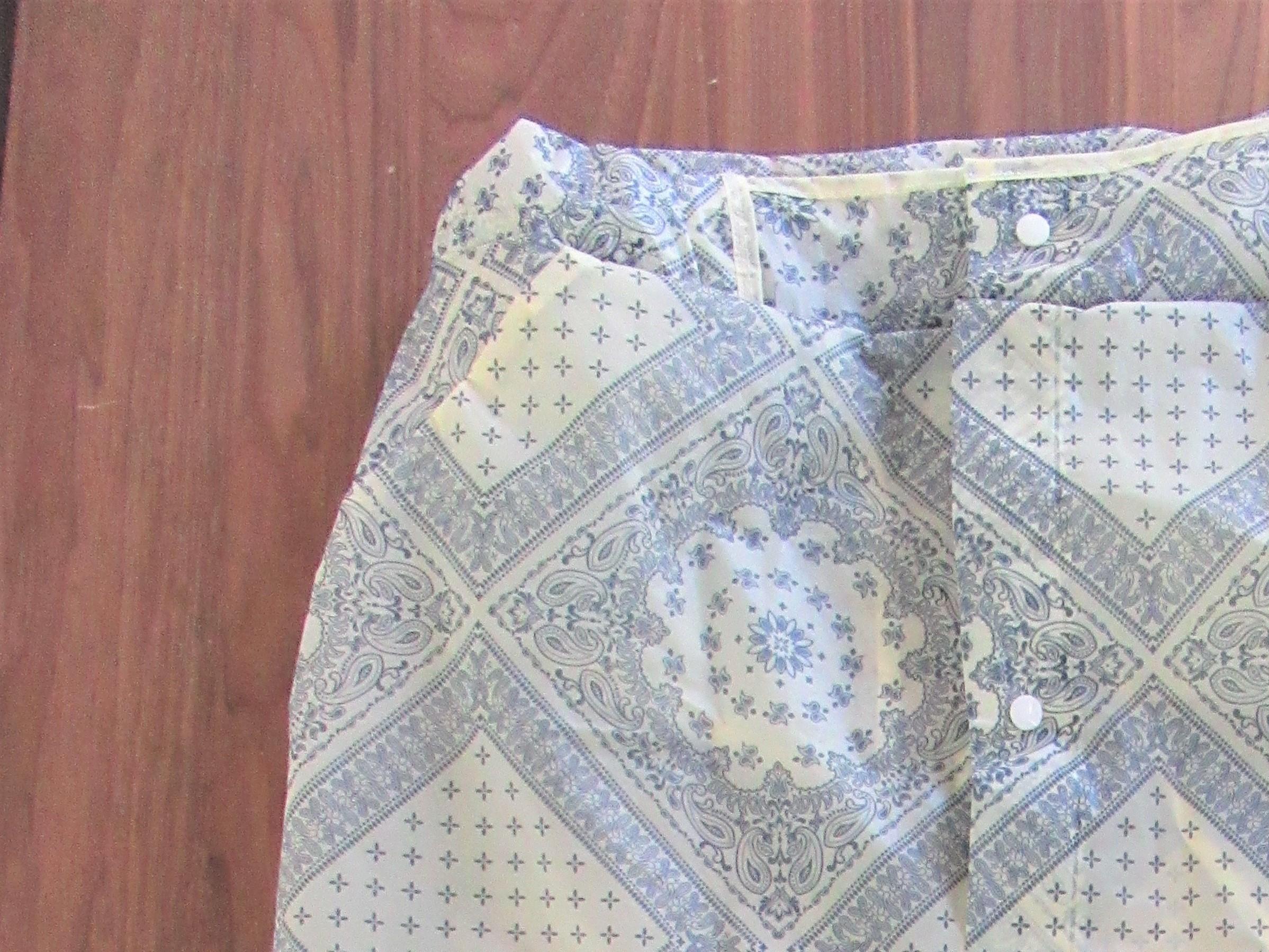 簡単手芸|レインスカートの作り方~レインコートをレインスカートにリメイクしました~