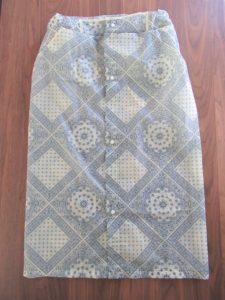 レインスカート 作り方
