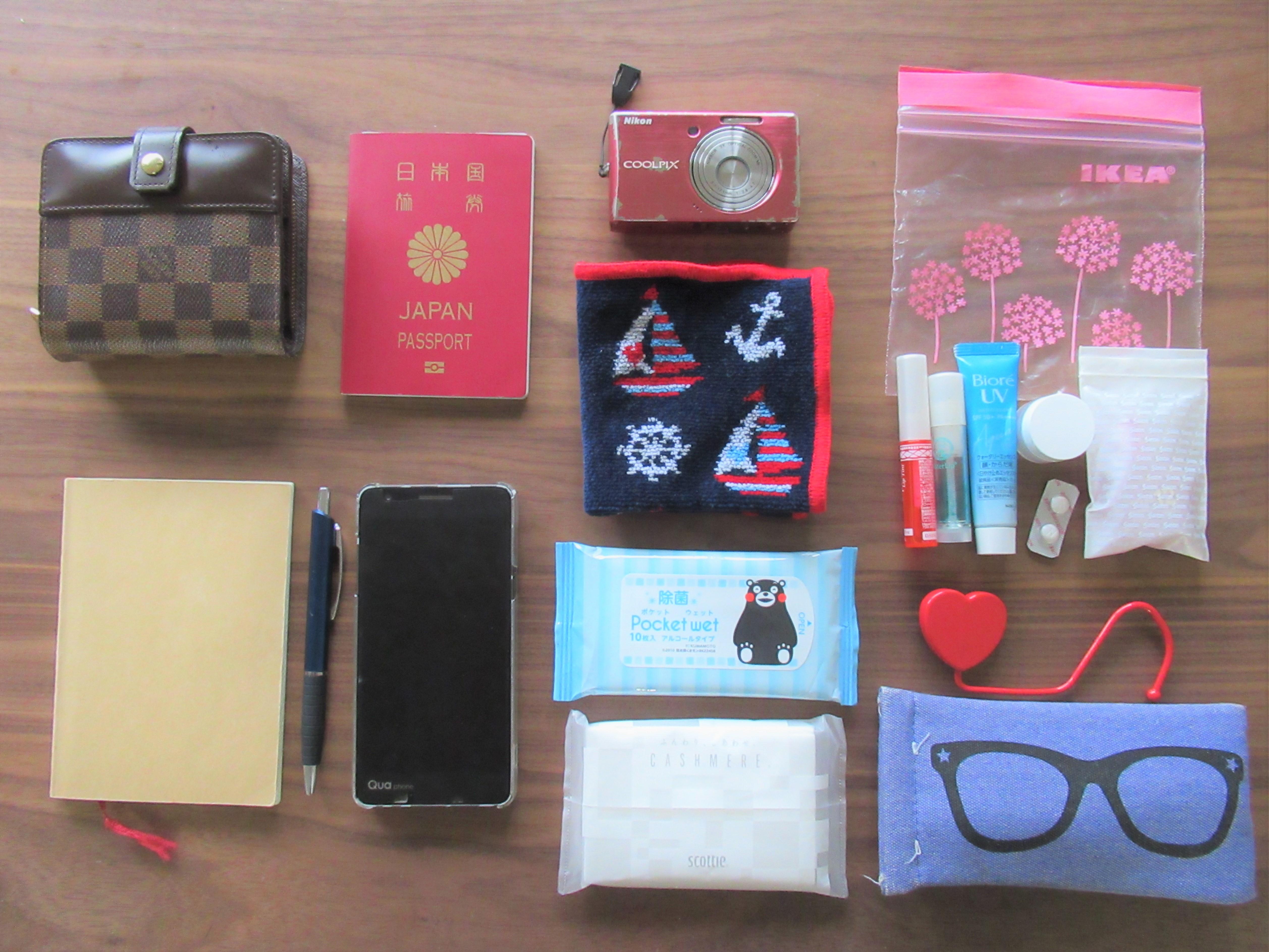 【韓国旅行の持ち物チェックリスト】いらない物は?荷物は少なくても必要な物!|韓国ブログ旅