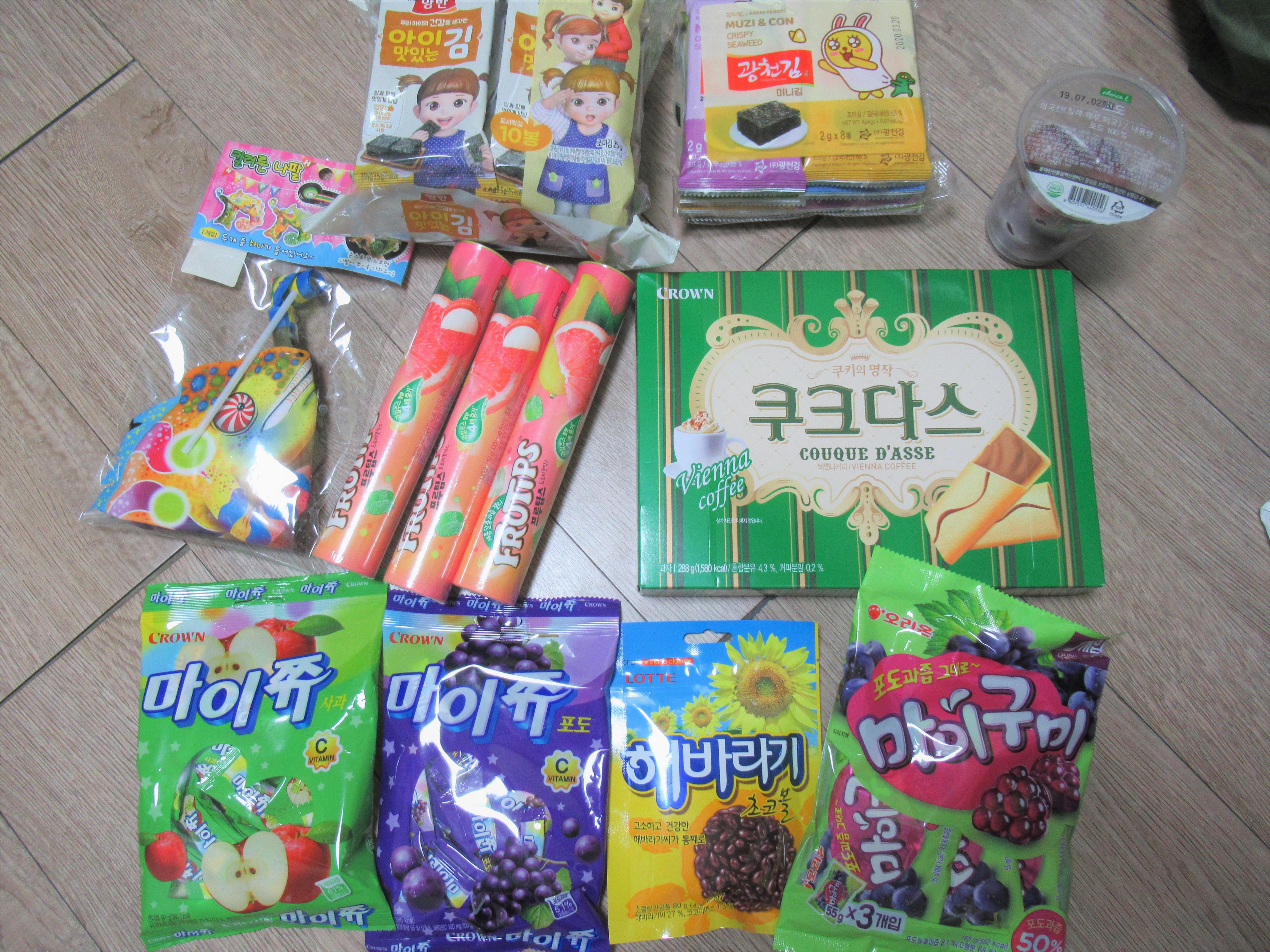 韓国のお菓子はお土産にオススメ☆2019年はスーパーで購入|韓国ブログ旅