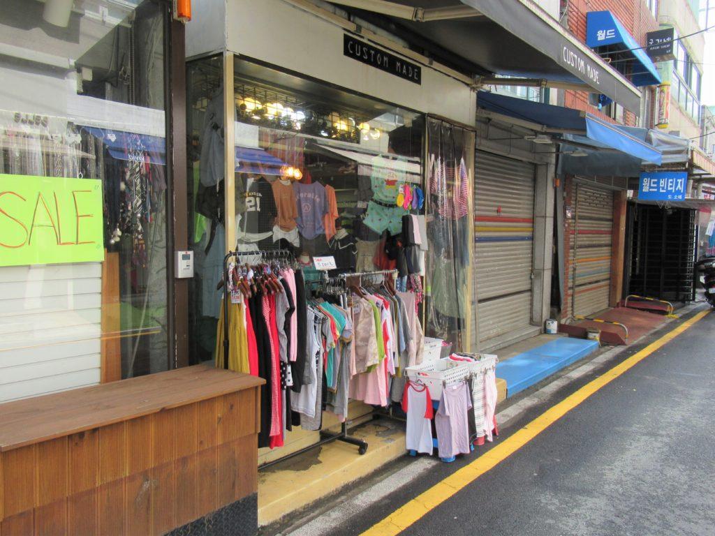 国際市場 子供服