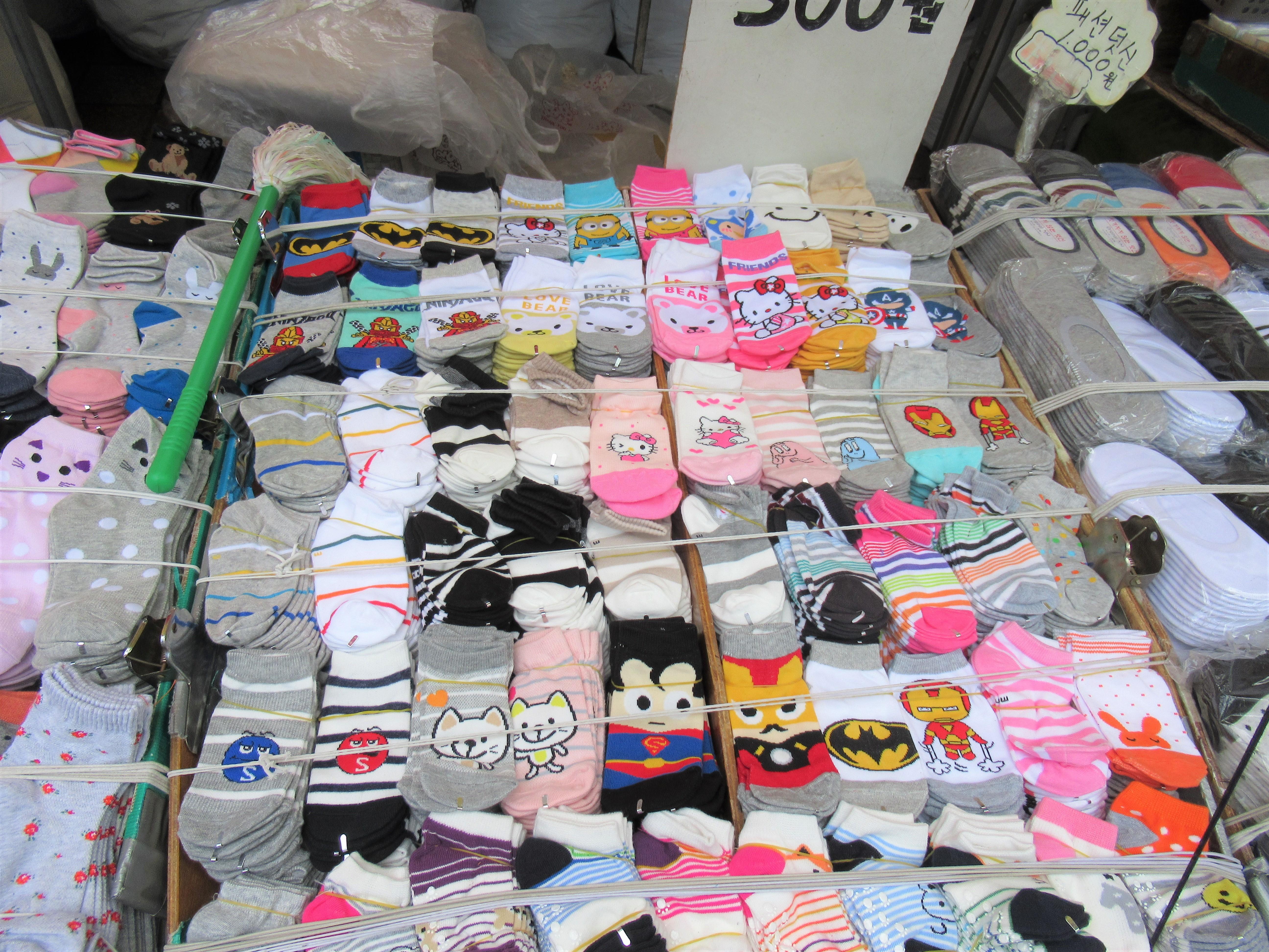 韓国の靴下は小さい?子どものサイズと選び方