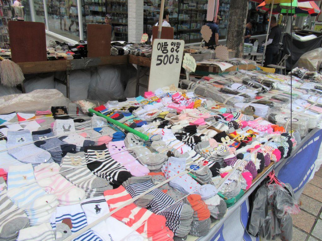 韓国 靴下
