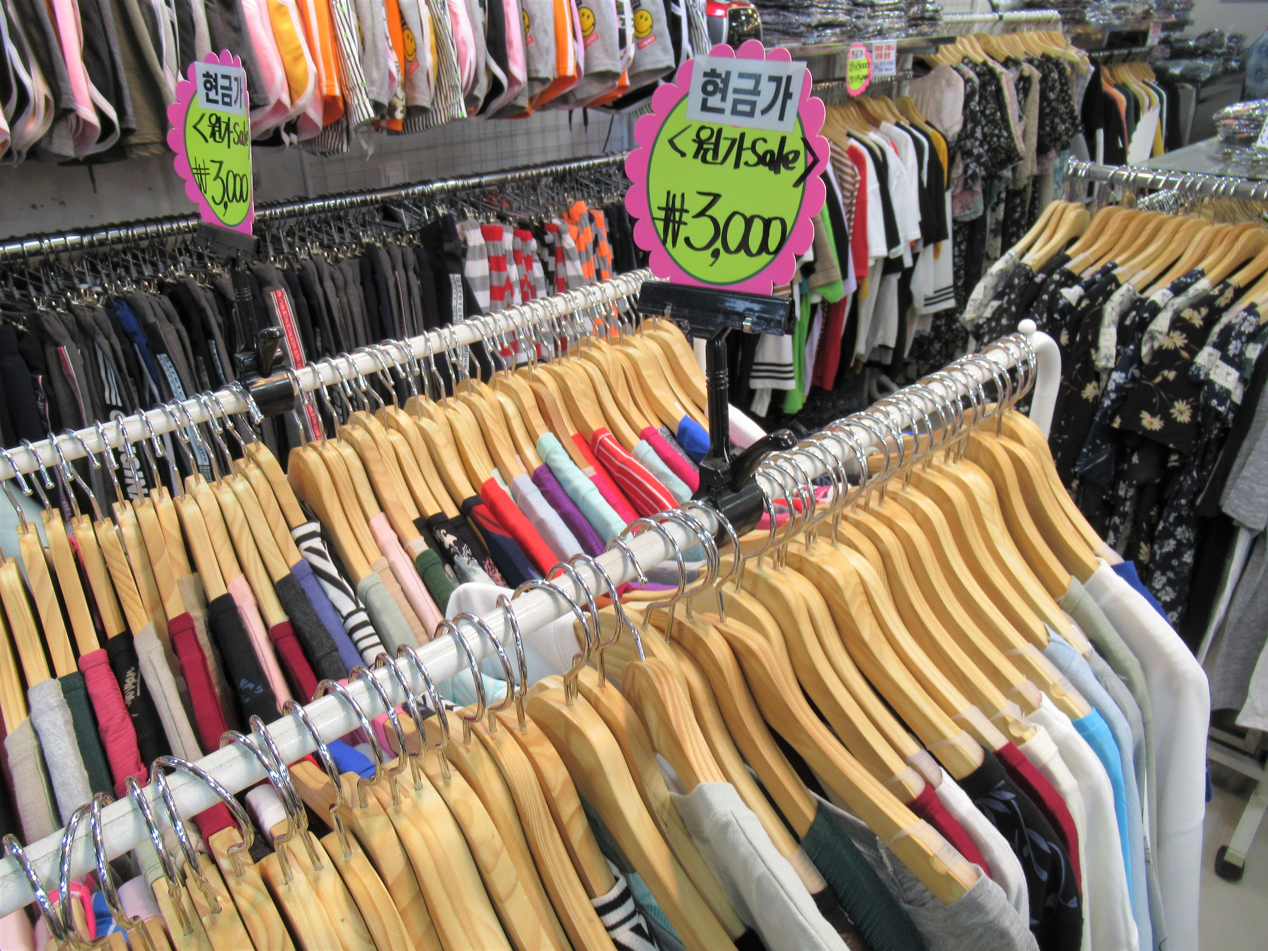 釜山でオススメなお土産☆南浦洞は服や靴下がソウルより安い|韓国ブログ旅