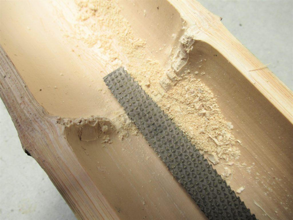竹の節 取り方