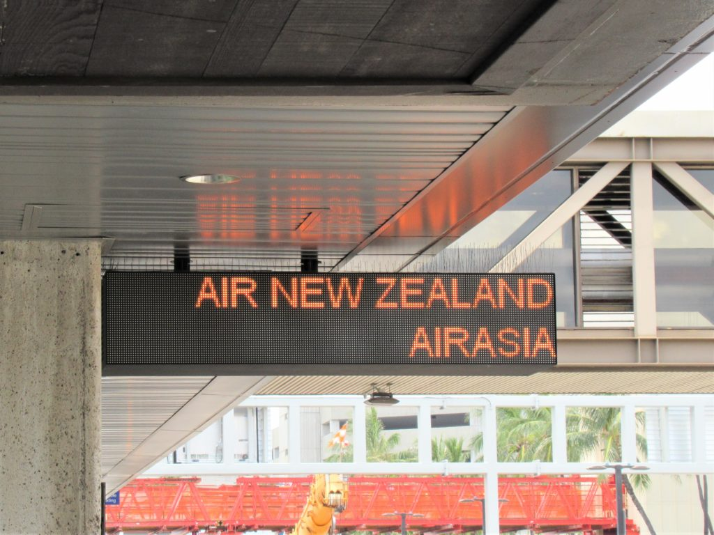 エアアジア ハワイ 帰国便