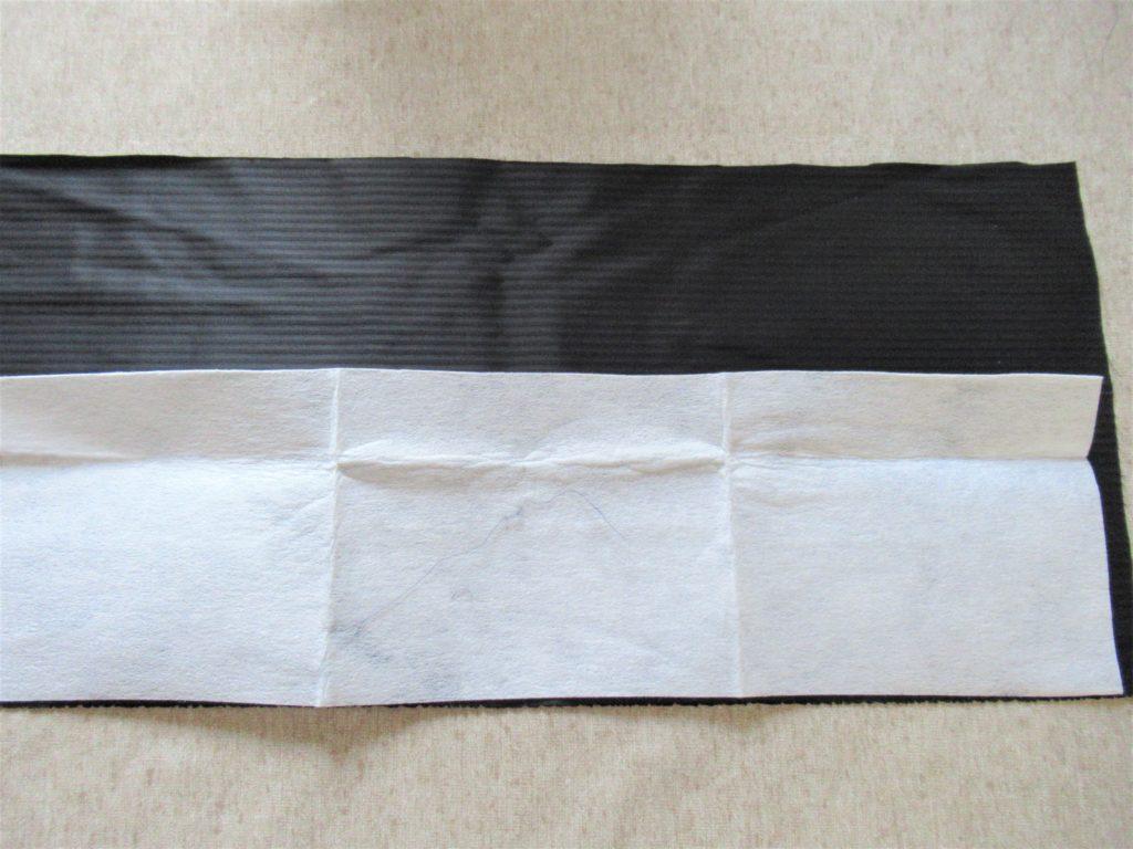 マント 縦衿 簡単作り方