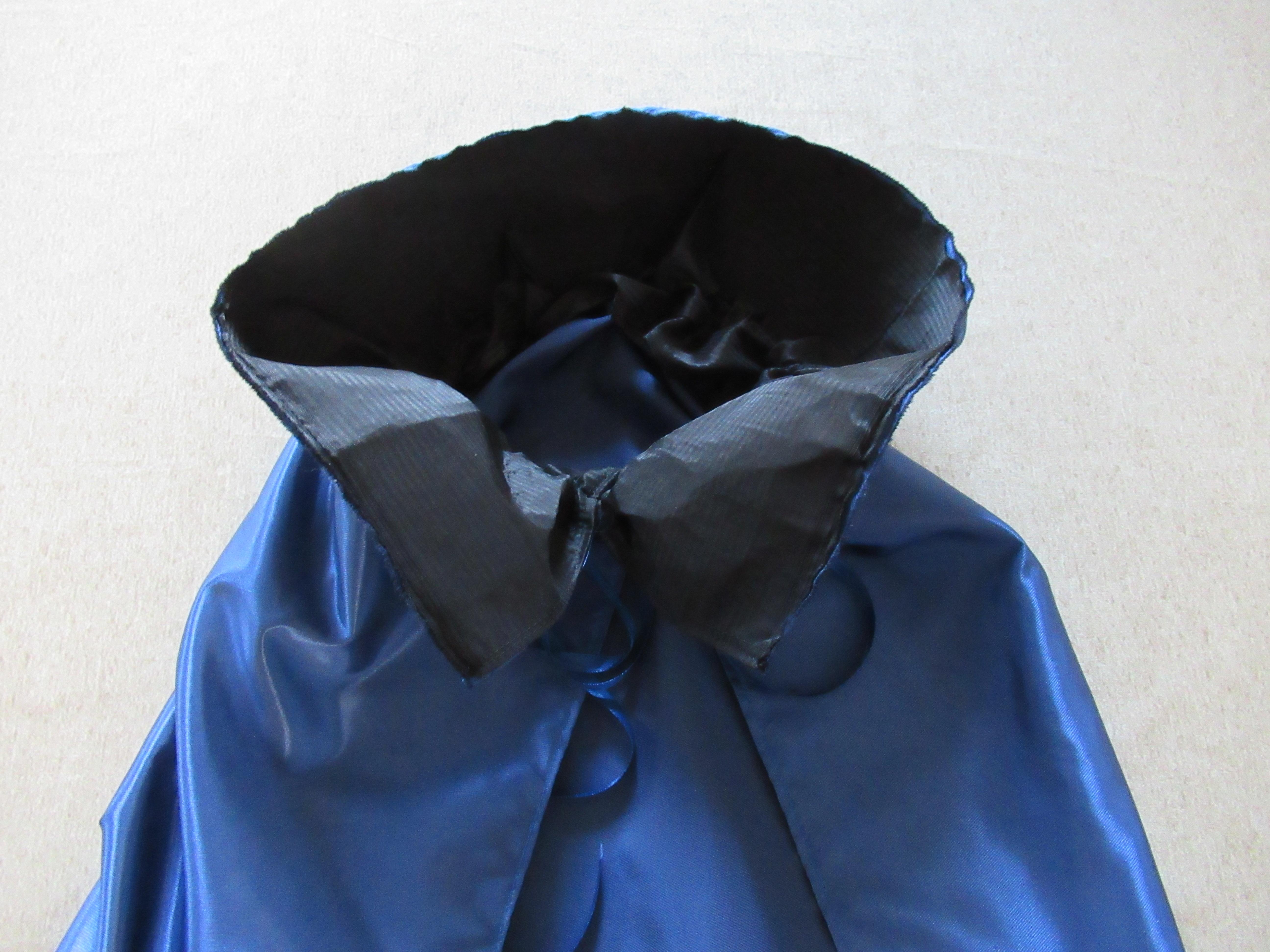 子どものマント立て襟の簡単な作り方☆材料は全て100均♪|簡単手芸ブログ