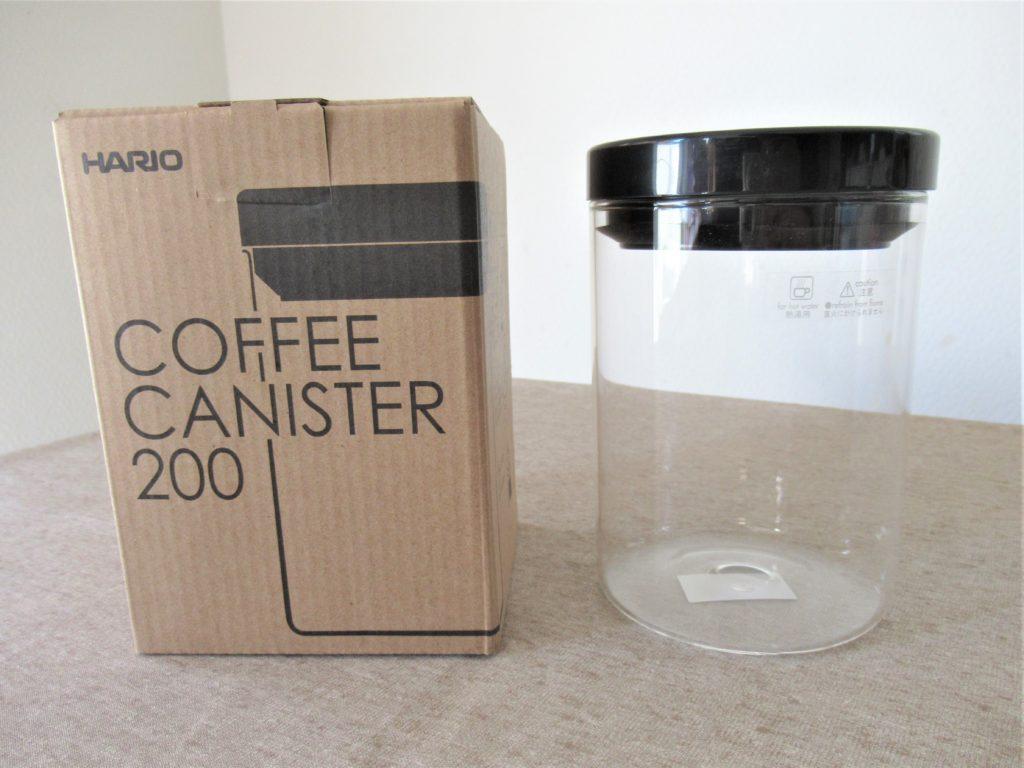 hario コーヒーキャニスター 密閉容器