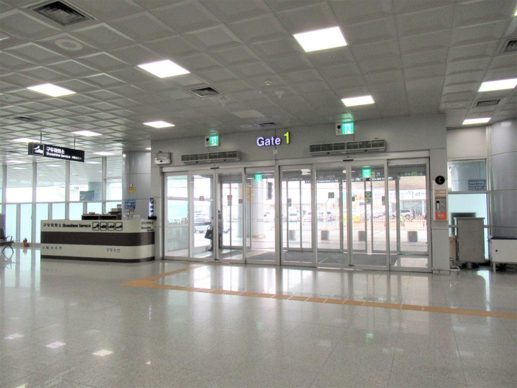 金海空港 西面 タクシー