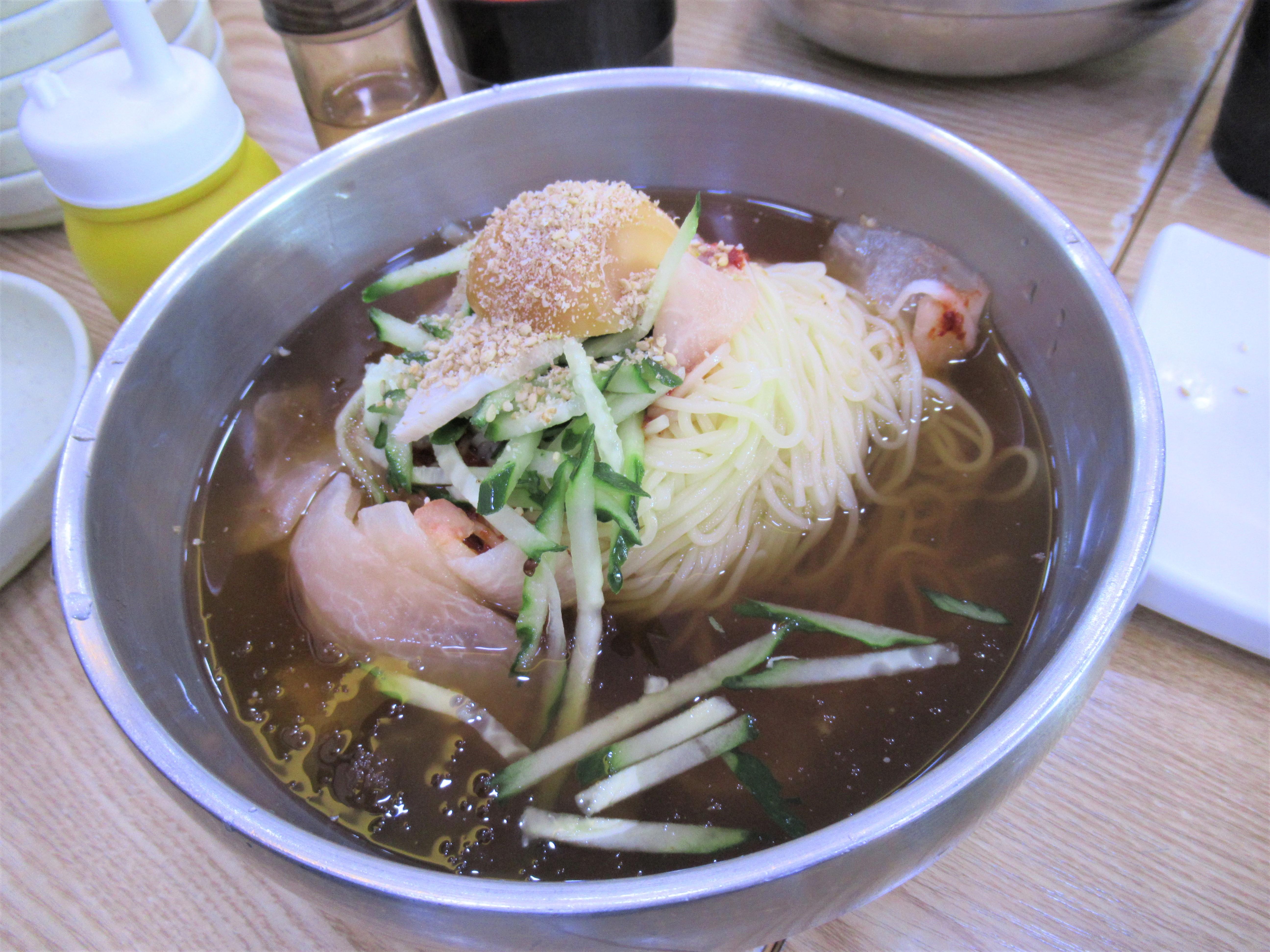 西面駅で昼食・朝食は「マチョウン ククス」が手軽でオススメ!釜山ブログ旅