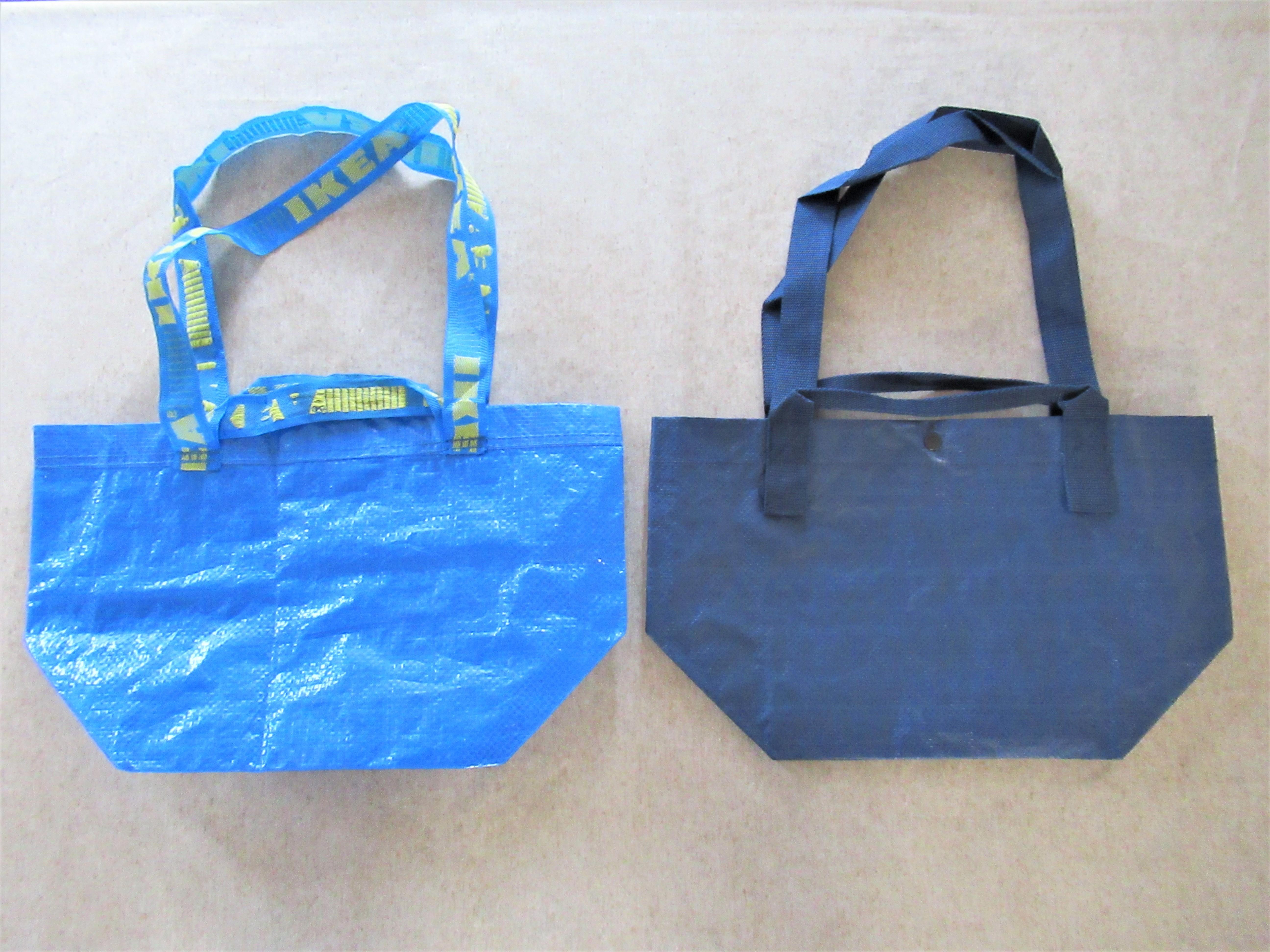【無印良品】トートバックは旅行にオススメ!【IKEA】ブラットビーと比較!用途によって使い分けが便利|ラク家事ブログ