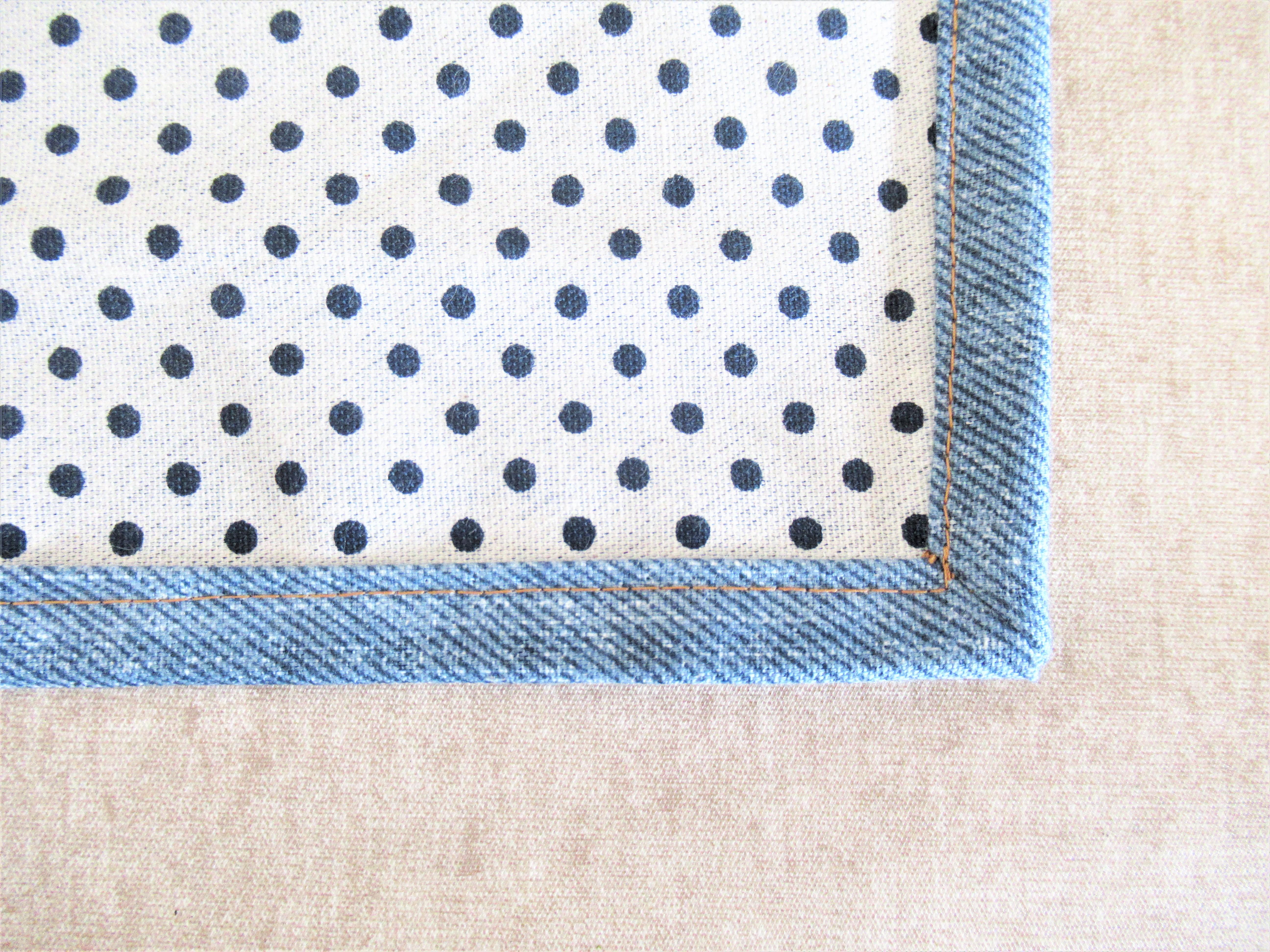 【額縁縫い】失敗しない方法!「手作りランチョンマット」わかりやすく簡単な手順を写真で紹介|子育てブログ
