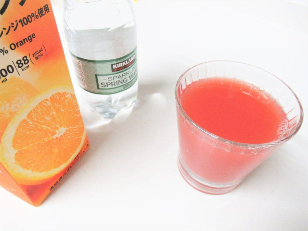 ミチョ ザクロ 美味しい 飲み方 オレンジジュース