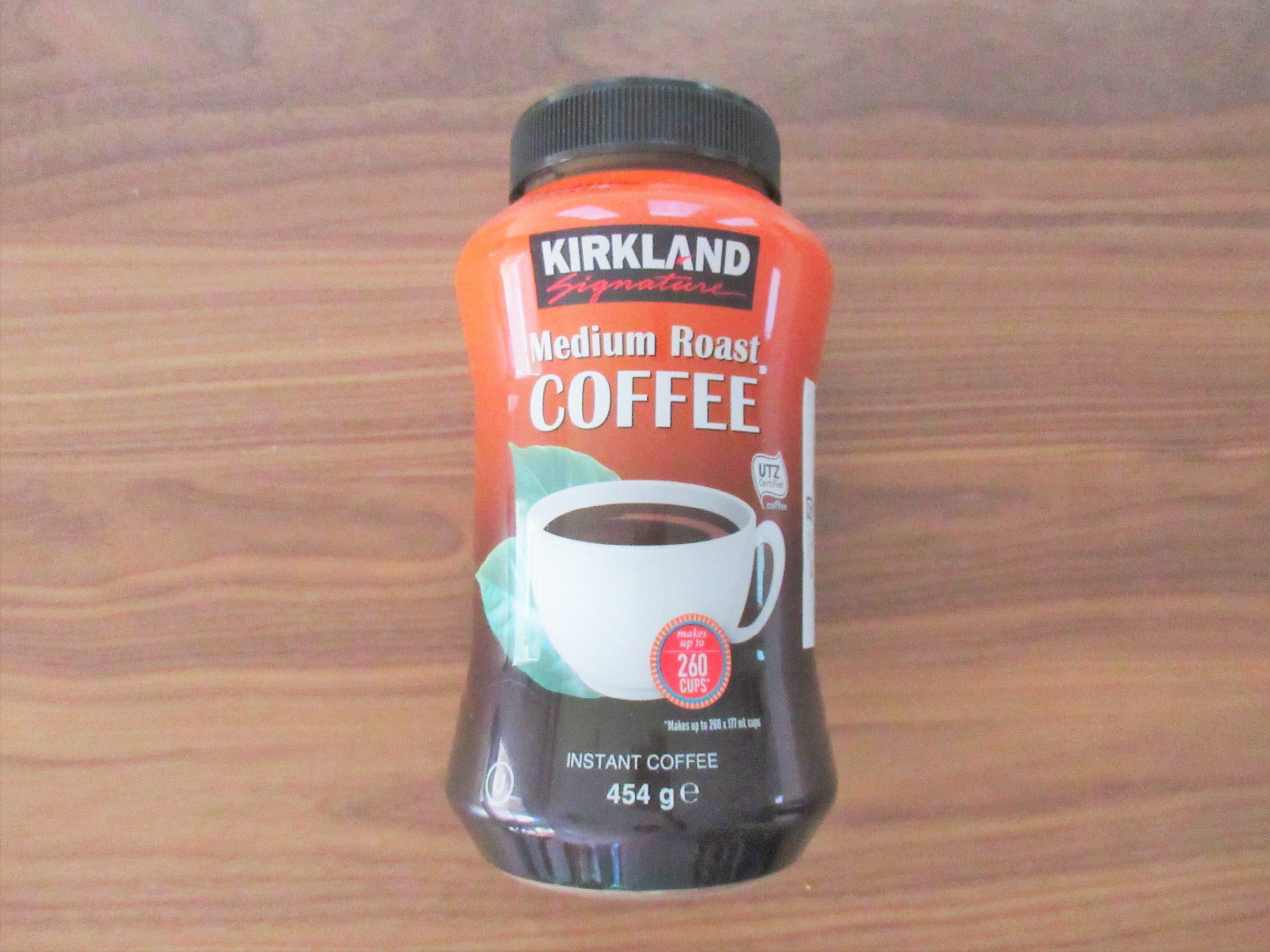 コストコ【KIRKLAND】インスタントコーヒーの味をレビュー☆インスタント派には嬉しい商品|コストコで節約さがし